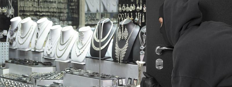 Stealing jewelry